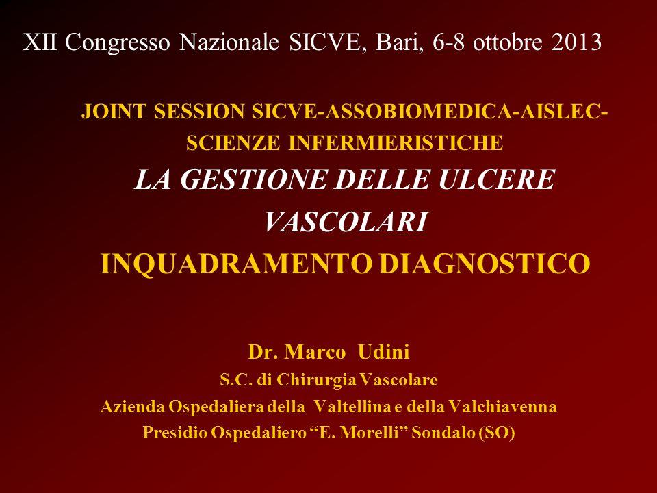XII Congresso Nazionale SICVE, Bari, 6-8 ottobre 2013