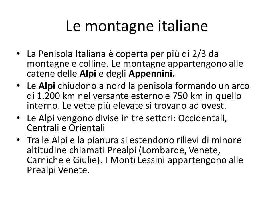 Le montagne italiane