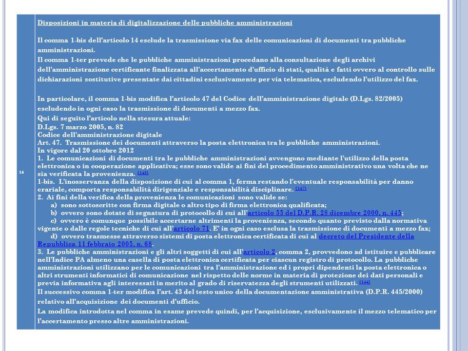 Codice dell amministrazione digitale