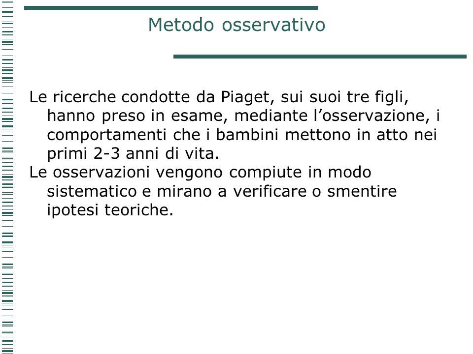 Metodo osservativo