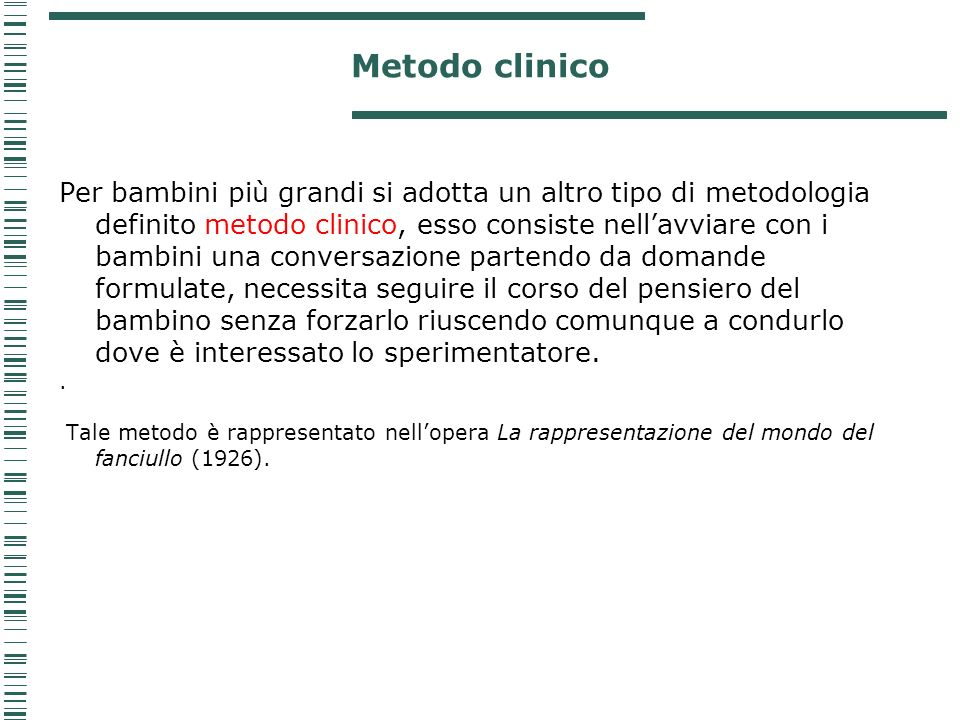 Metodo clinico
