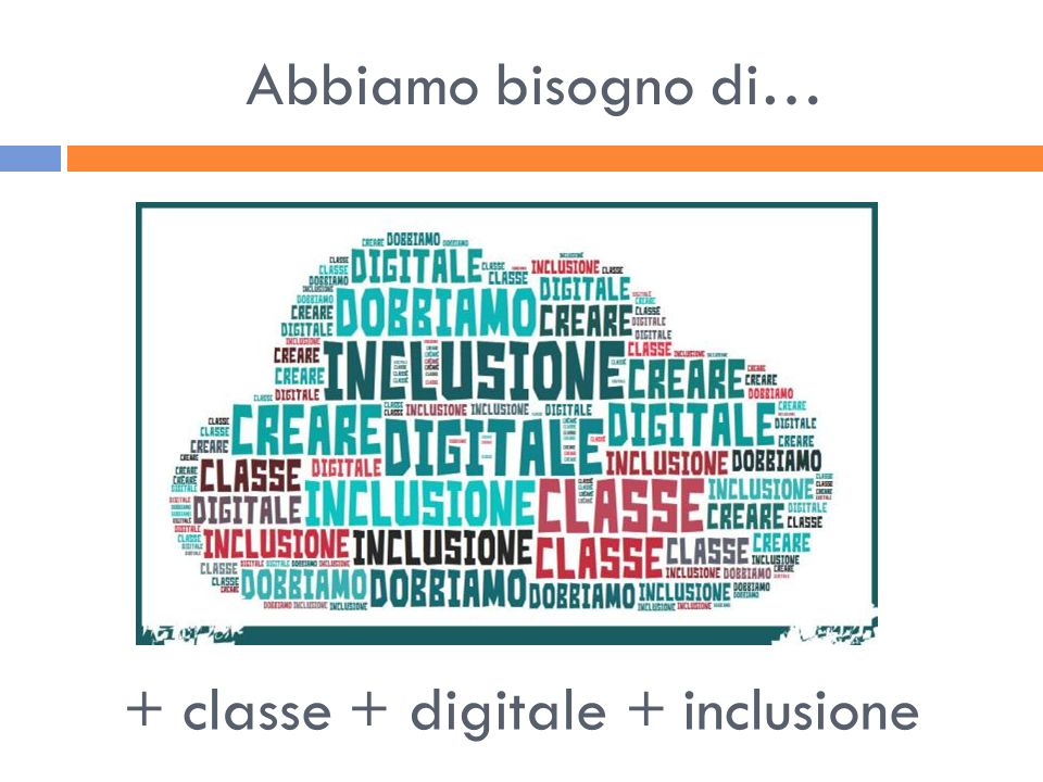 + classe + digitale + inclusione