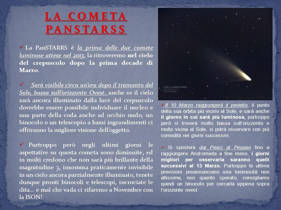 LA COMETA PANSTARSS