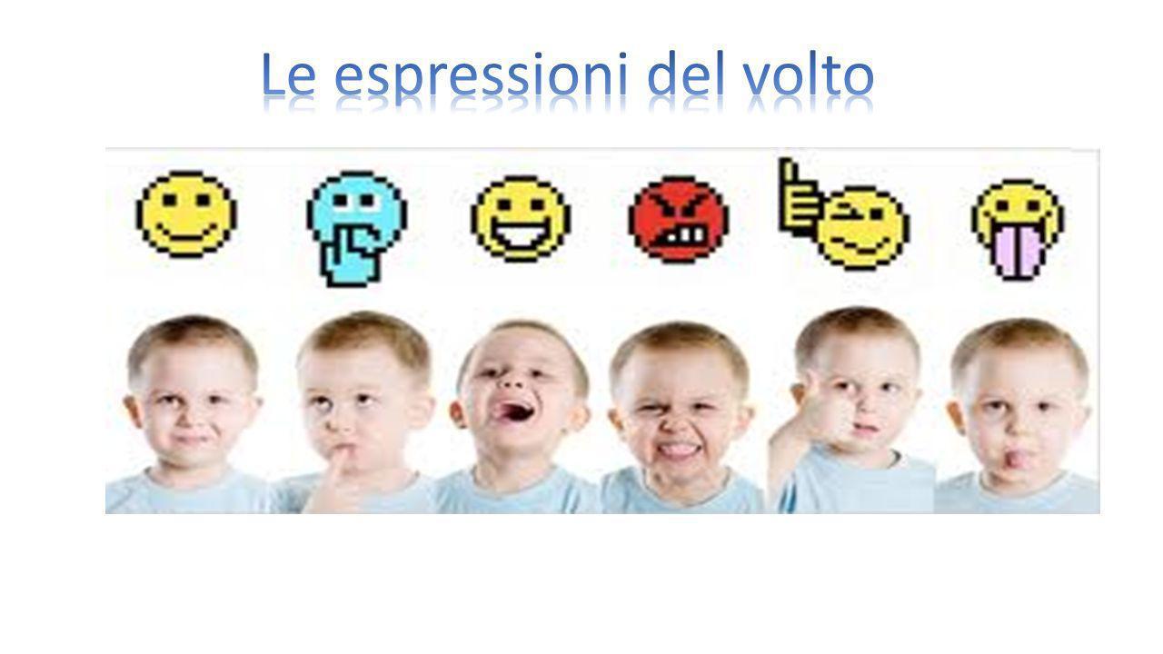 Le espressioni del volto