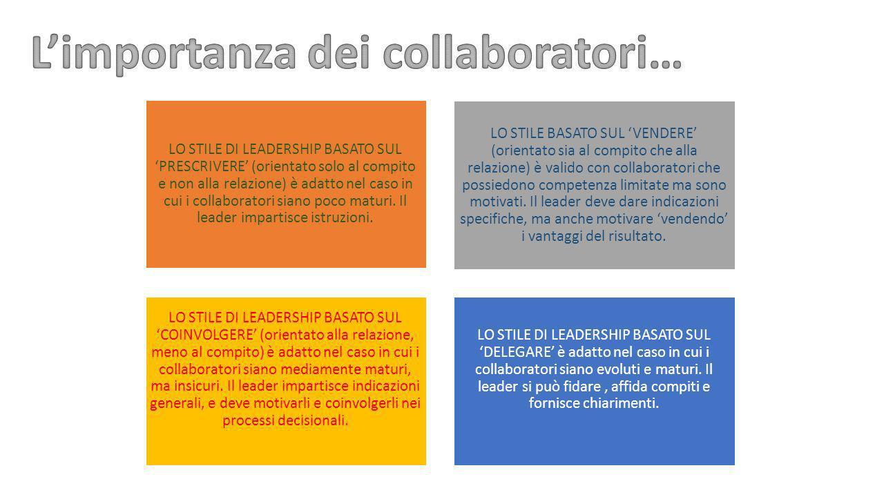 L'importanza dei collaboratori…
