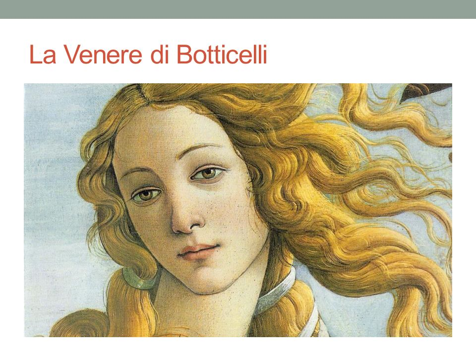La Venere di Botticelli
