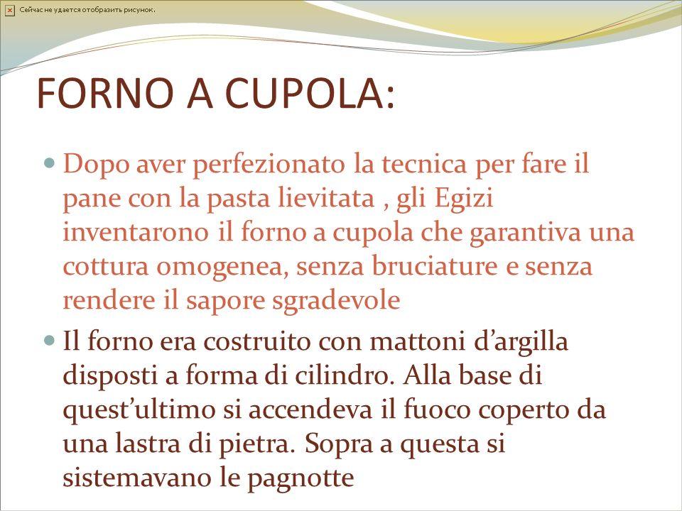 FORNO A CUPOLA: