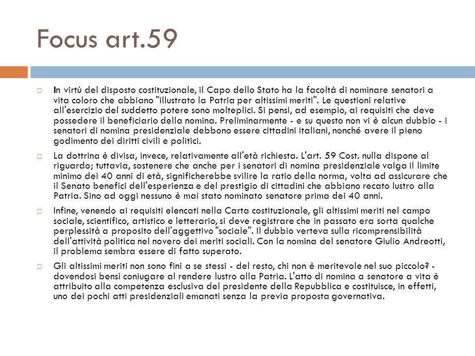 Focus art.59