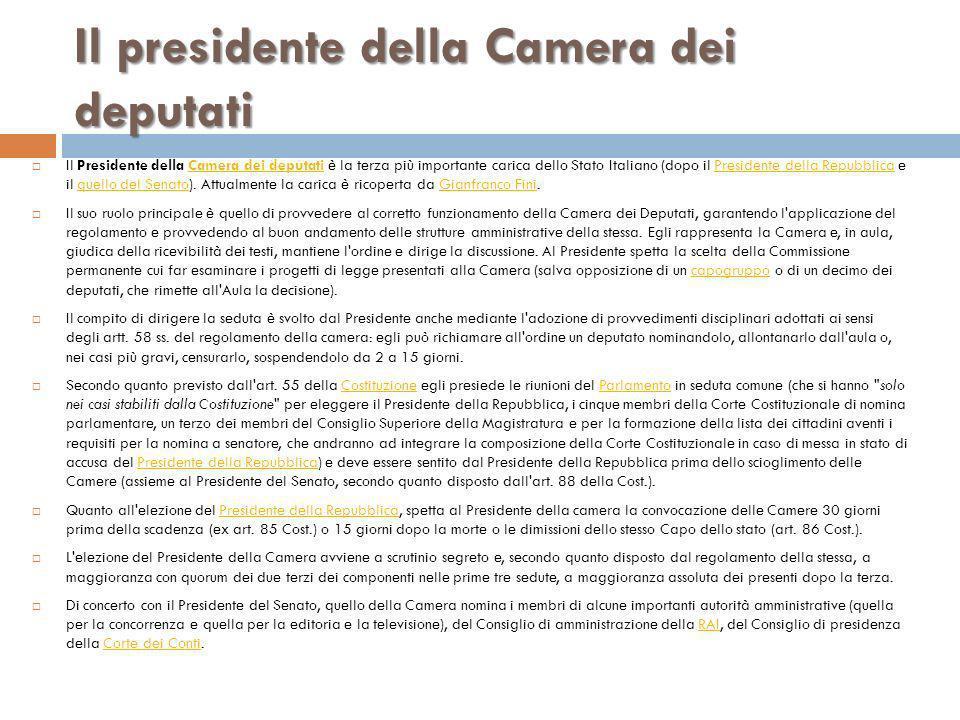 Il parlamento caratteri e struttura ppt scaricare for Composizione senato italiano
