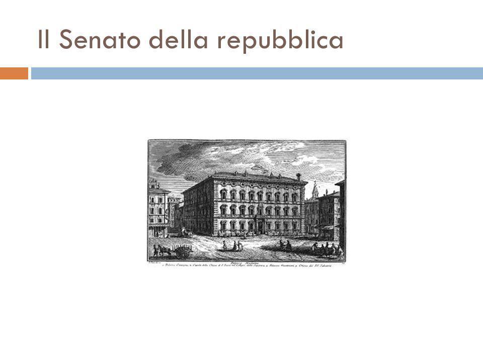 Il parlamento caratteri e struttura ppt scaricare for Sede senato italiano