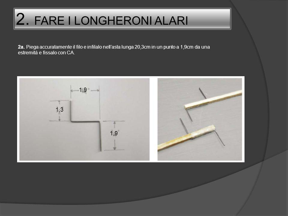 2. FARE I LONGHERONI ALARI