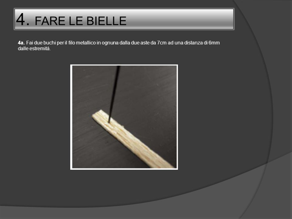4.FARE LE BIELLE4a.