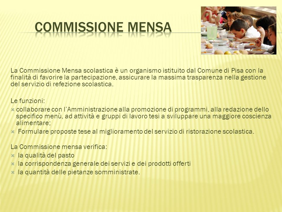 Commissione Mensa