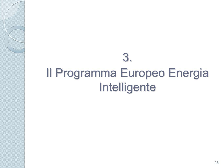 Il Programma Europeo Energia Intelligente