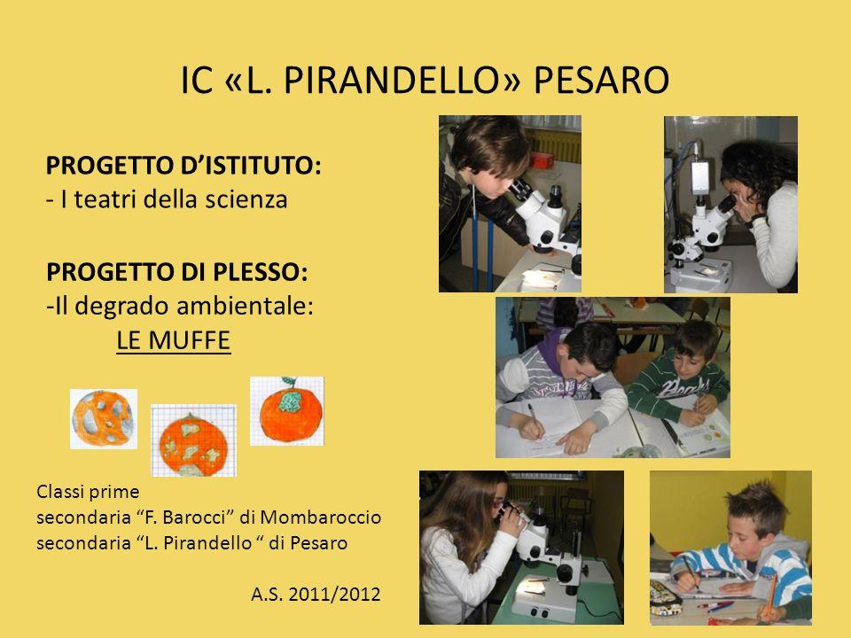 IC «L. PIRANDELLO» PESARO