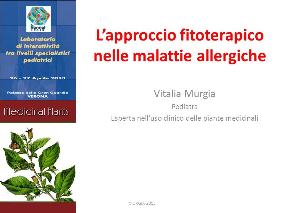 L'approccio fitoterapico nelle malattie allergiche