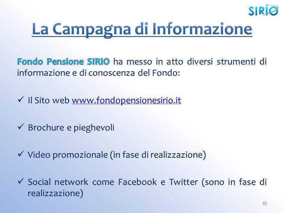 La Campagna di Informazione