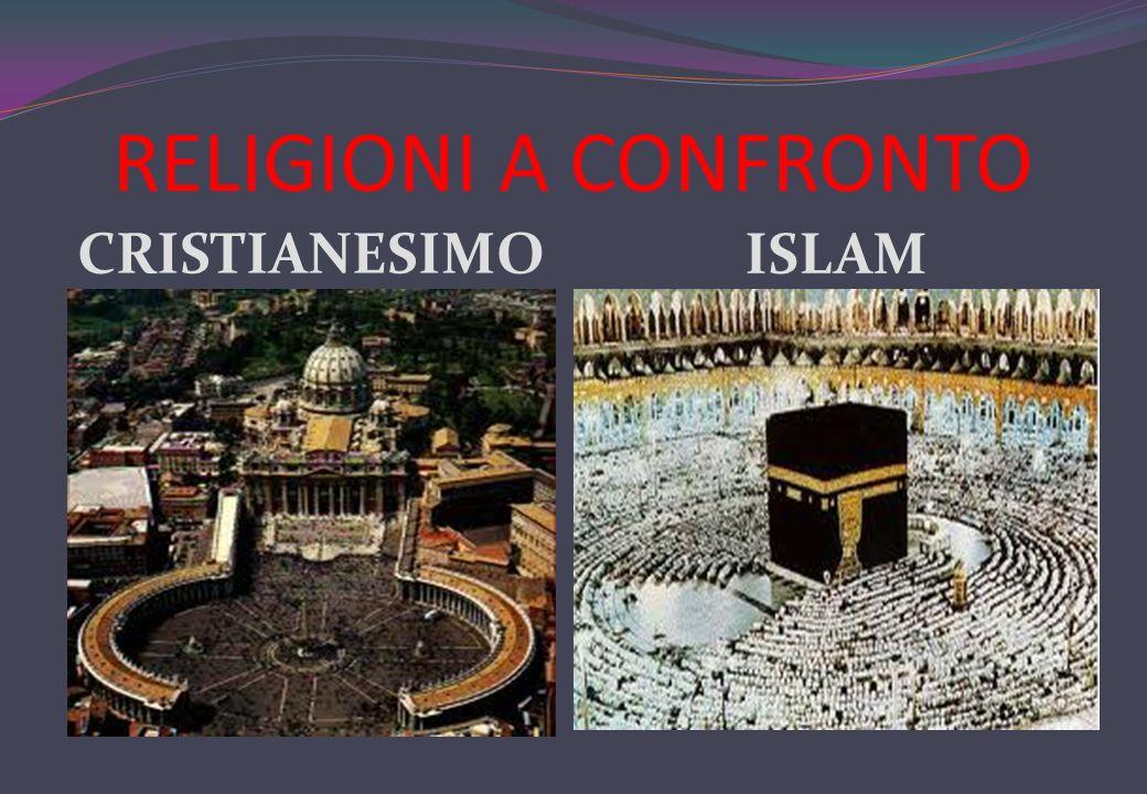 RELIGIONI A CONFRONTO CRISTIANESIMO ISLAM