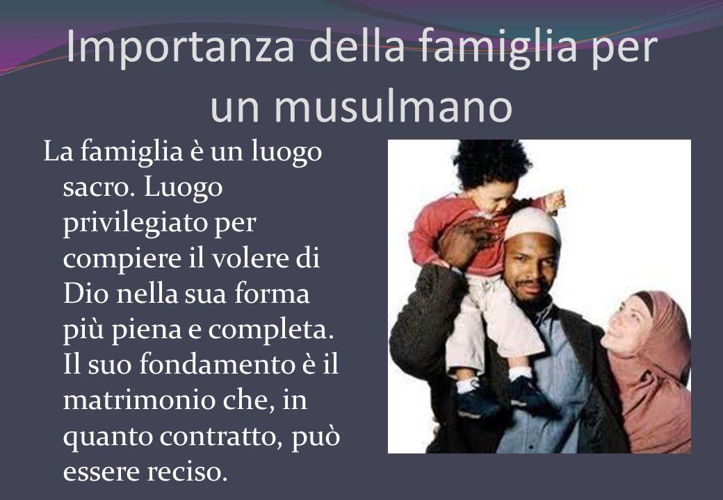 Importanza della famiglia per un musulmano