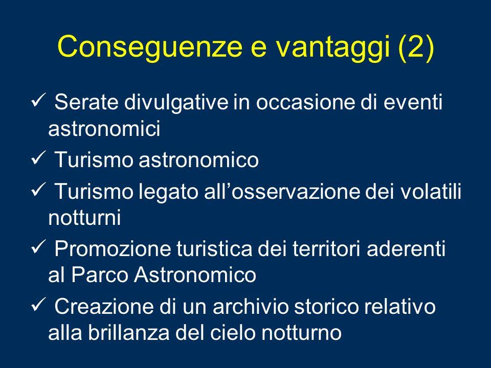 Conseguenze e vantaggi (2)
