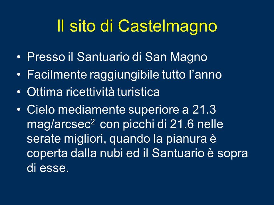 Il sito di Castelmagno Presso il Santuario di San Magno