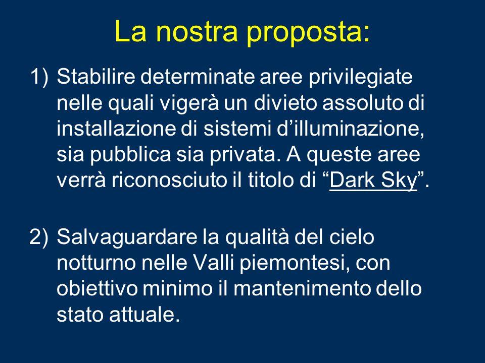 La nostra proposta: