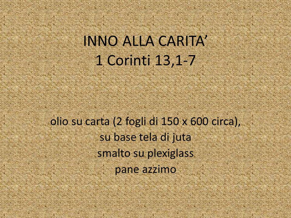 INNO ALLA CARITA' 1 Corinti 13,1-7