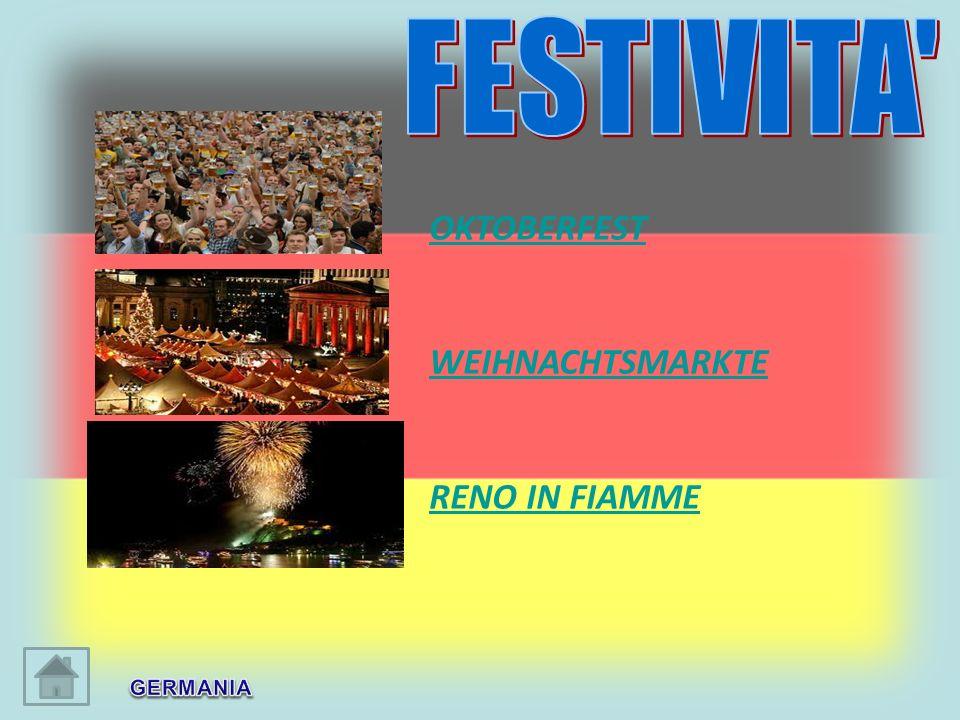 FESTIVITA OKTOBERFEST WEIHNACHTSMARKTE RENO IN FIAMME GERMANIA