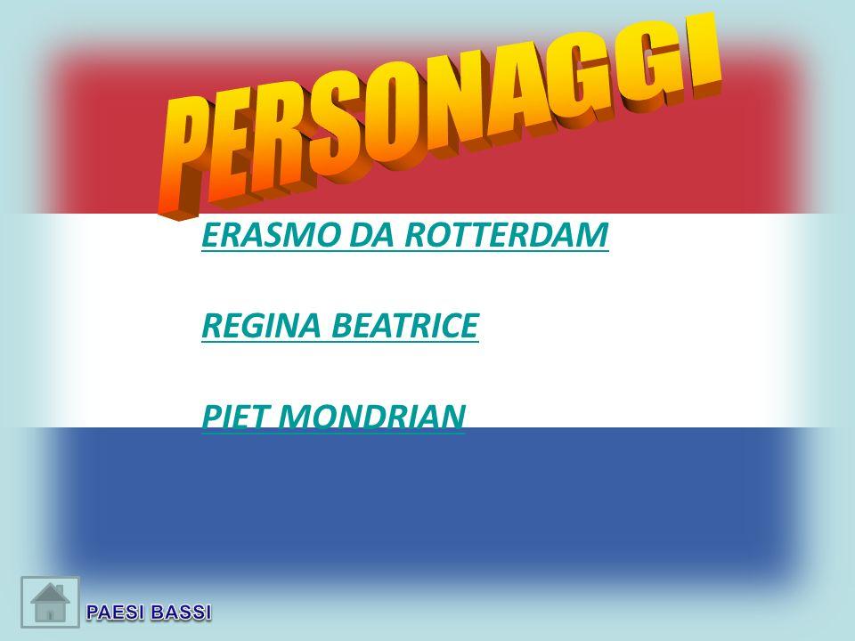 ERASMO DA ROTTERDAM REGINA BEATRICE PIET MONDRIAN PERSONAGGI