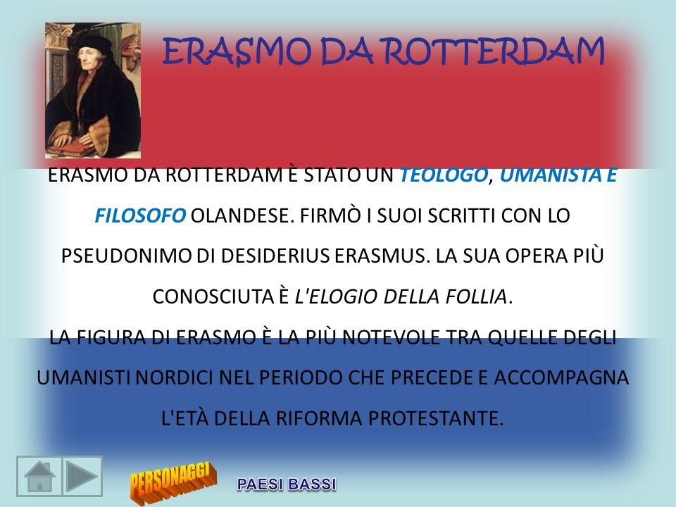 ERASMO DA ROTTERDAM