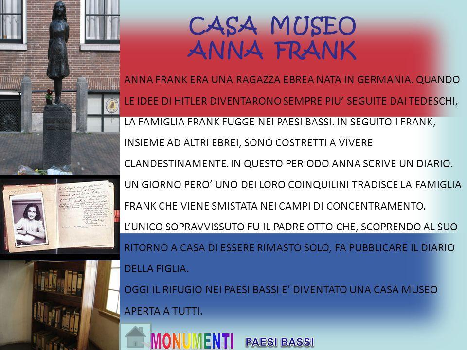 CASA MUSEO ANNA FRANK.