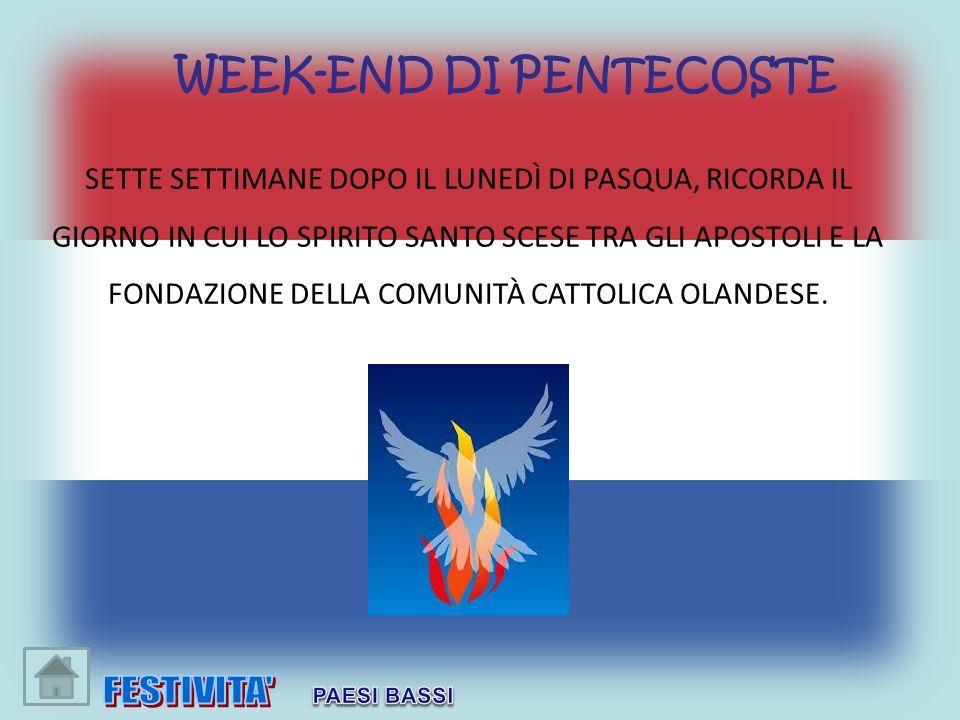 WEEK-END DI PENTECOSTE