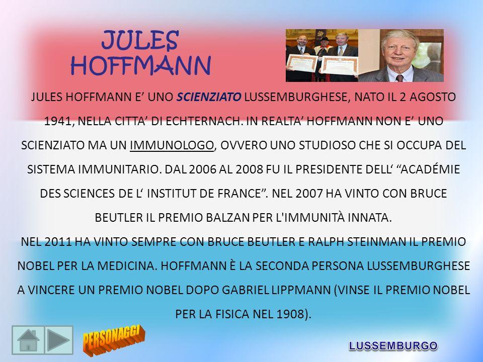JULES HOFFMANN.