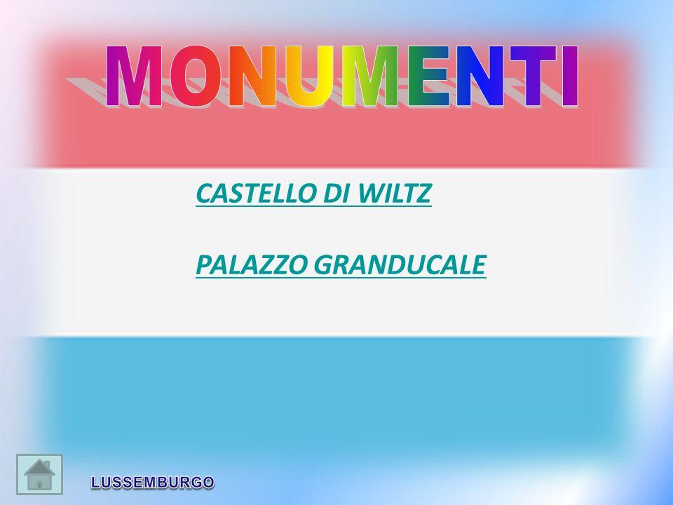 MONUMENTI CASTELLO DI WILTZ PALAZZO GRANDUCALE LUSSEMBURGO