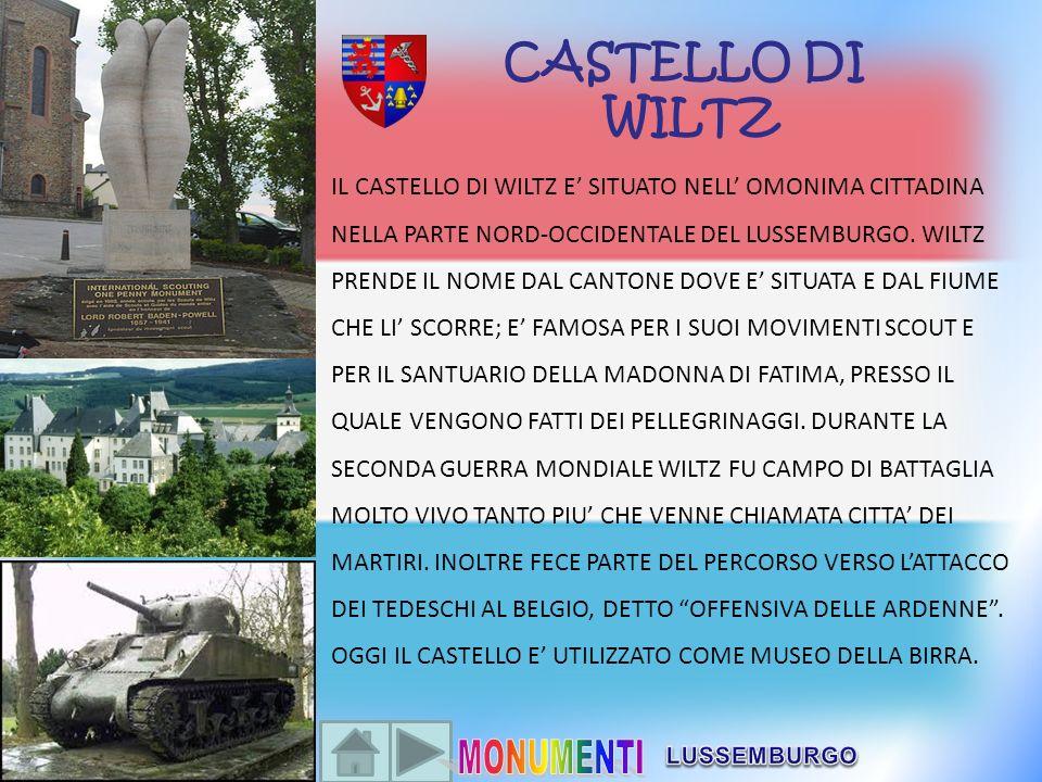 CASTELLO DI WILTZ.