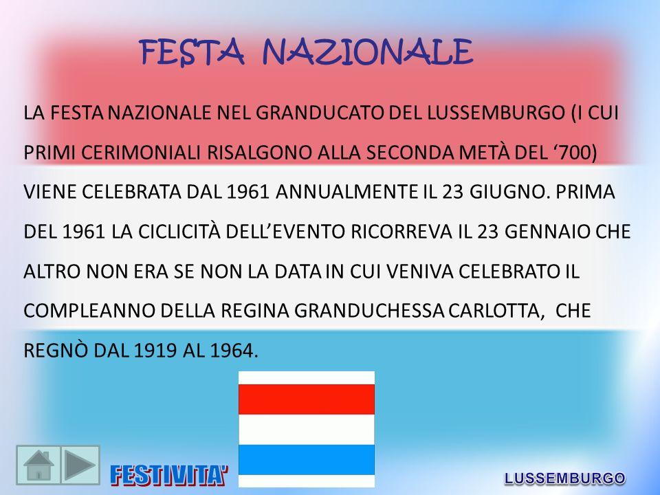 FESTA NAZIONALE