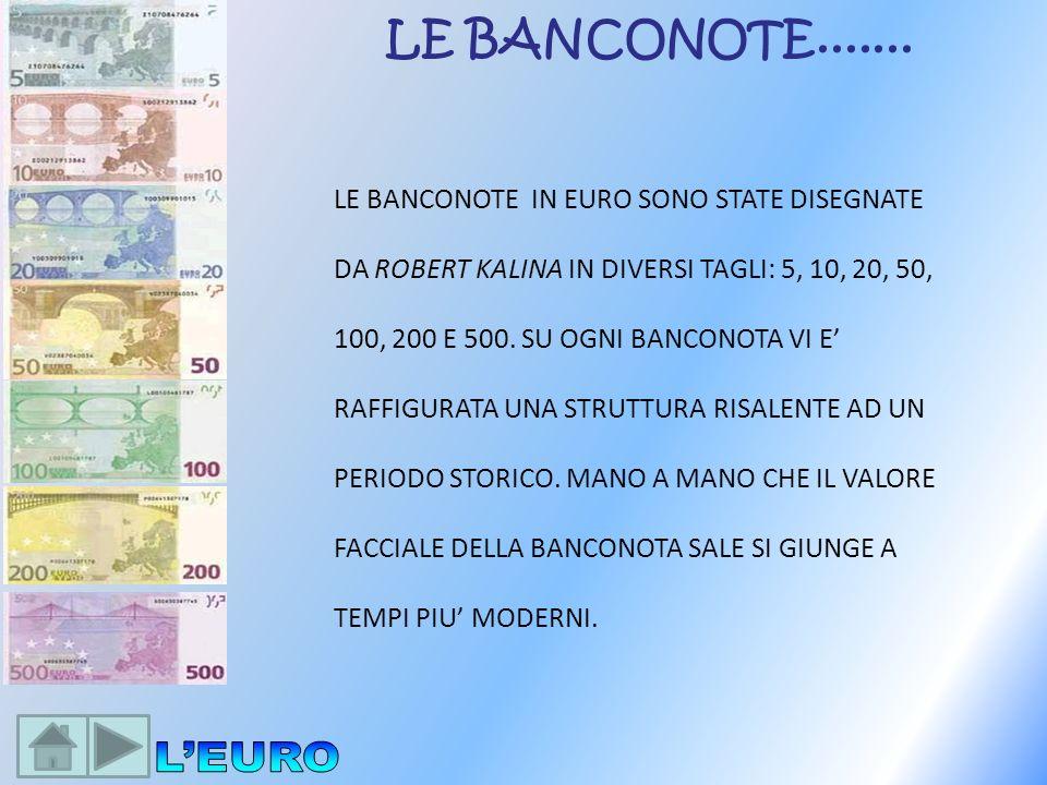 LE BANCONOTE.......