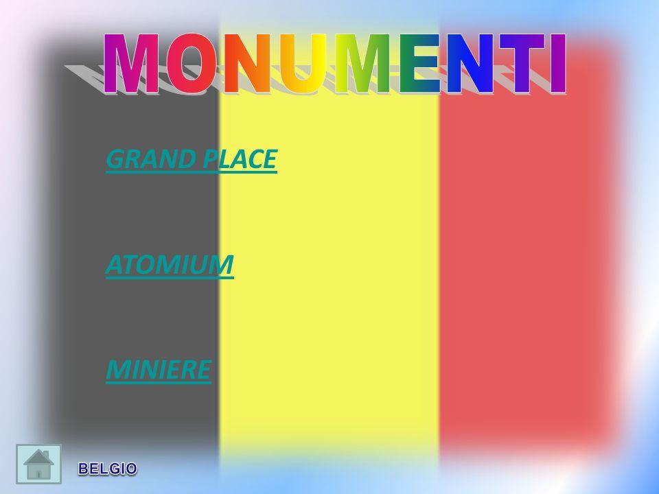MONUMENTI GRAND PLACE ATOMIUM MINIERE BELGIO
