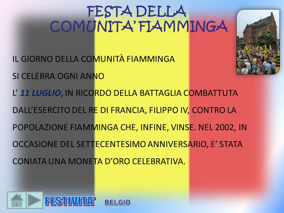 FESTA DELLA COMUNITA' FIAMMINGA