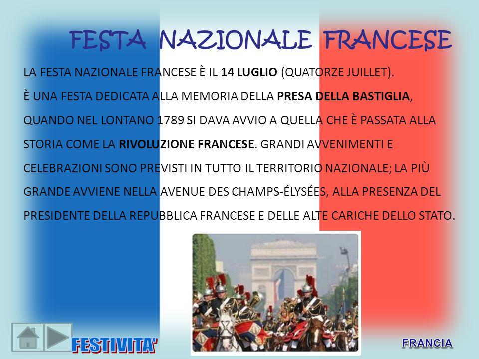 FESTA NAZIONALE FRANCESE