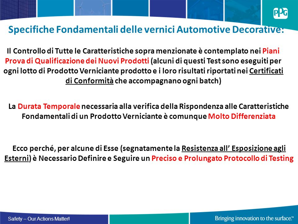 Specifiche Fondamentali delle vernici Automotive Decorative: