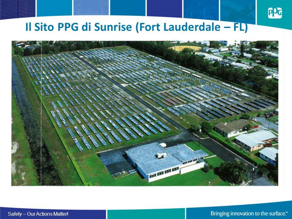 Il Sito PPG di Sunrise (Fort Lauderdale – FL)
