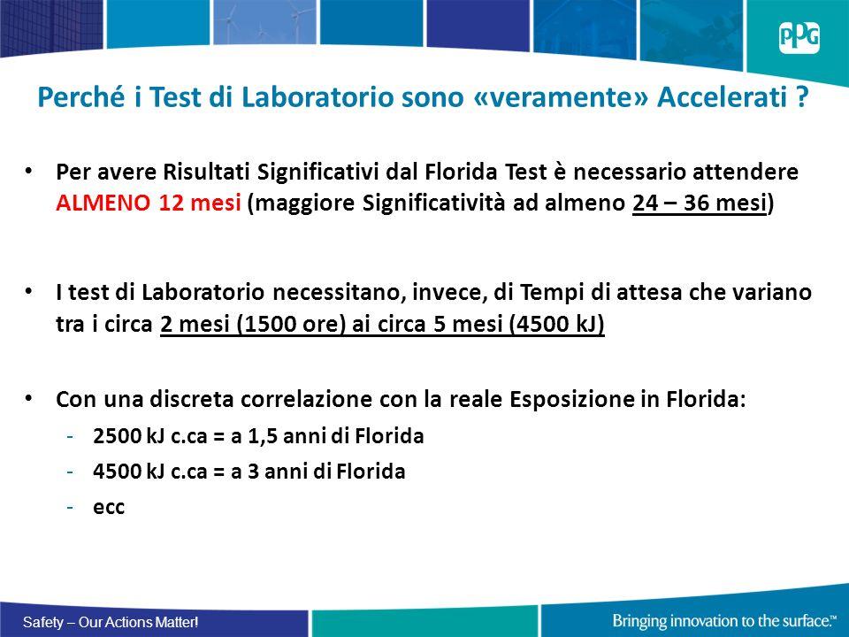 Perché i Test di Laboratorio sono «veramente» Accelerati