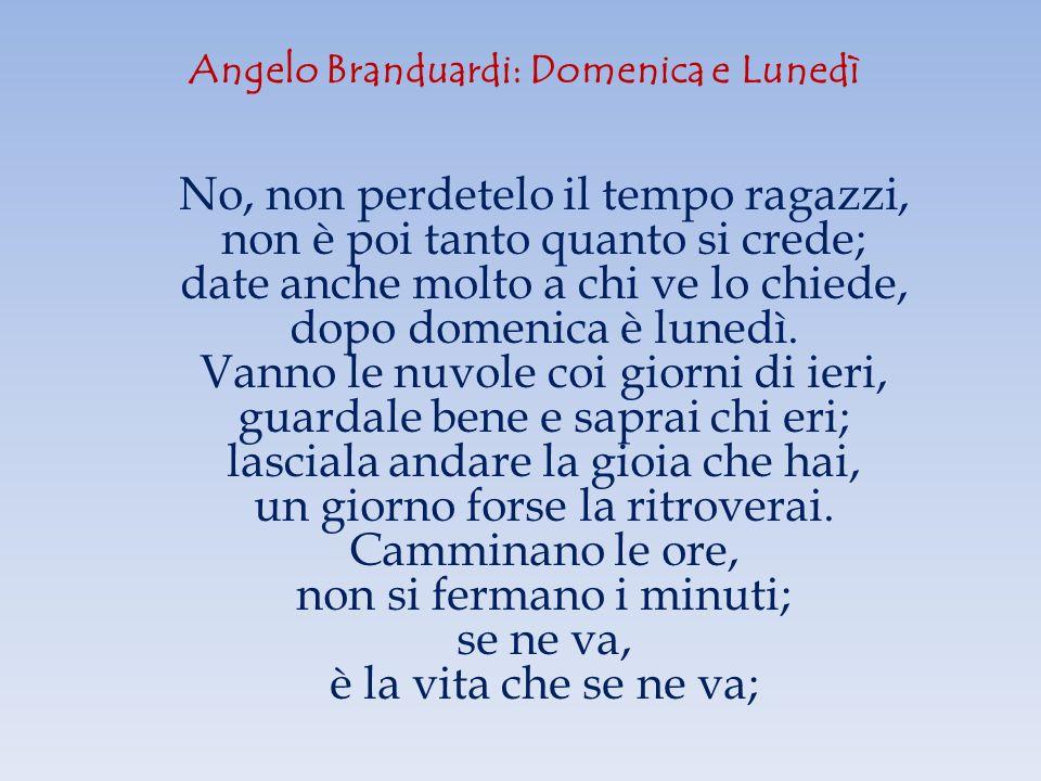 Angelo Branduardi: Domenica e Lunedì