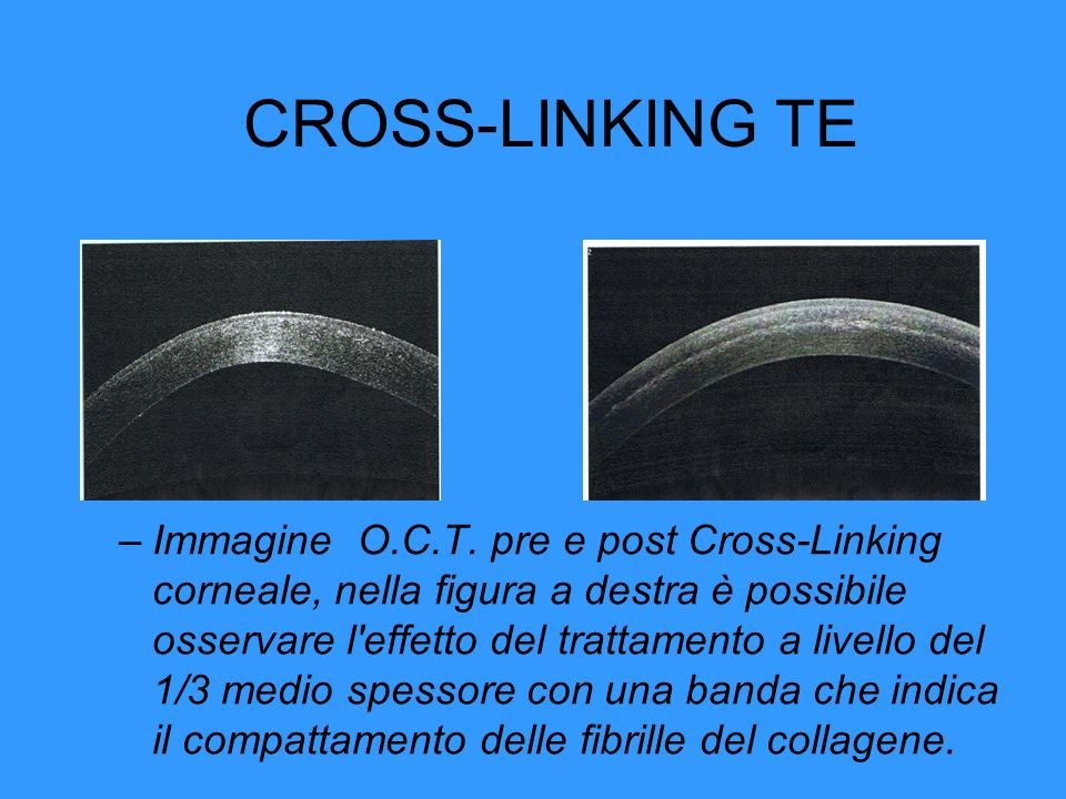 CROSS-LINKING TE