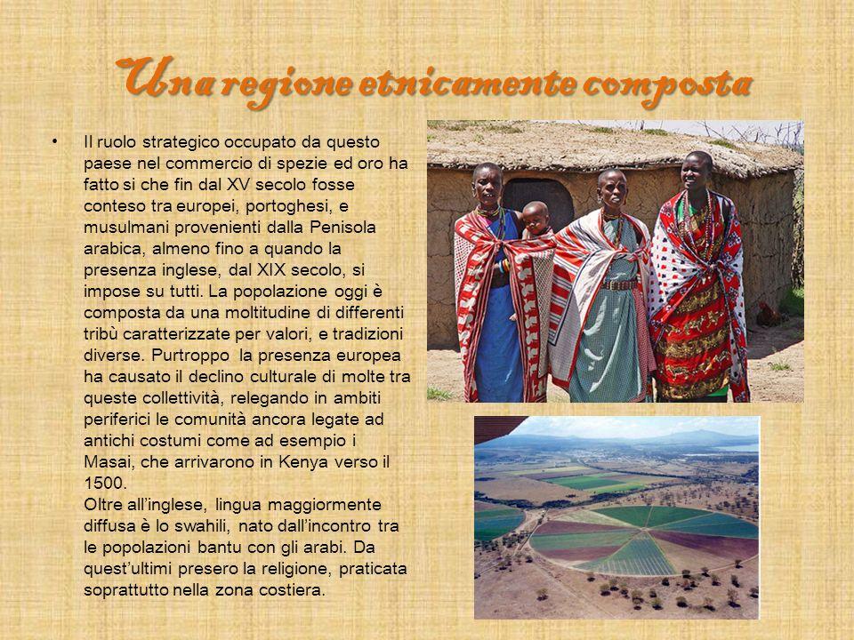 Una regione etnicamente composta