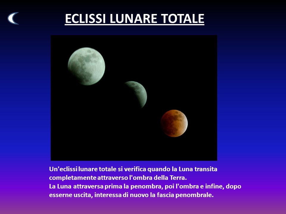 ECLISSI LUNARE TOTALE