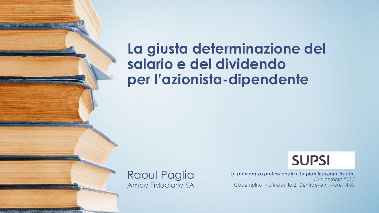 Raoul Paglia Amco Fiduciaria SA