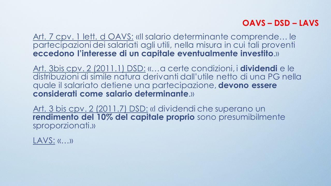OAVS – DSD – LAVS