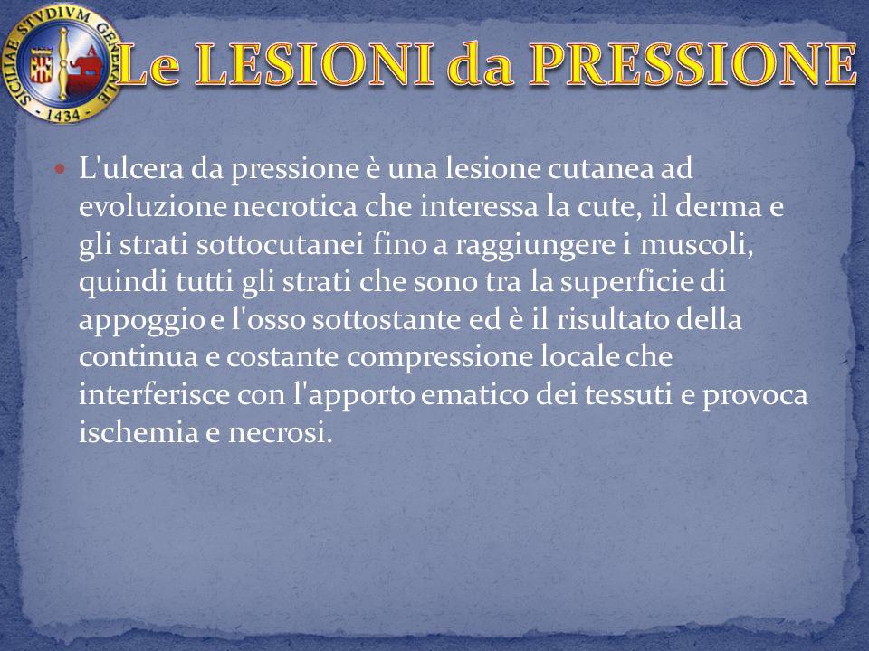 Le LESIONI da PRESSIONE